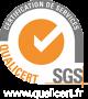 Logo Qualicert SGS formation