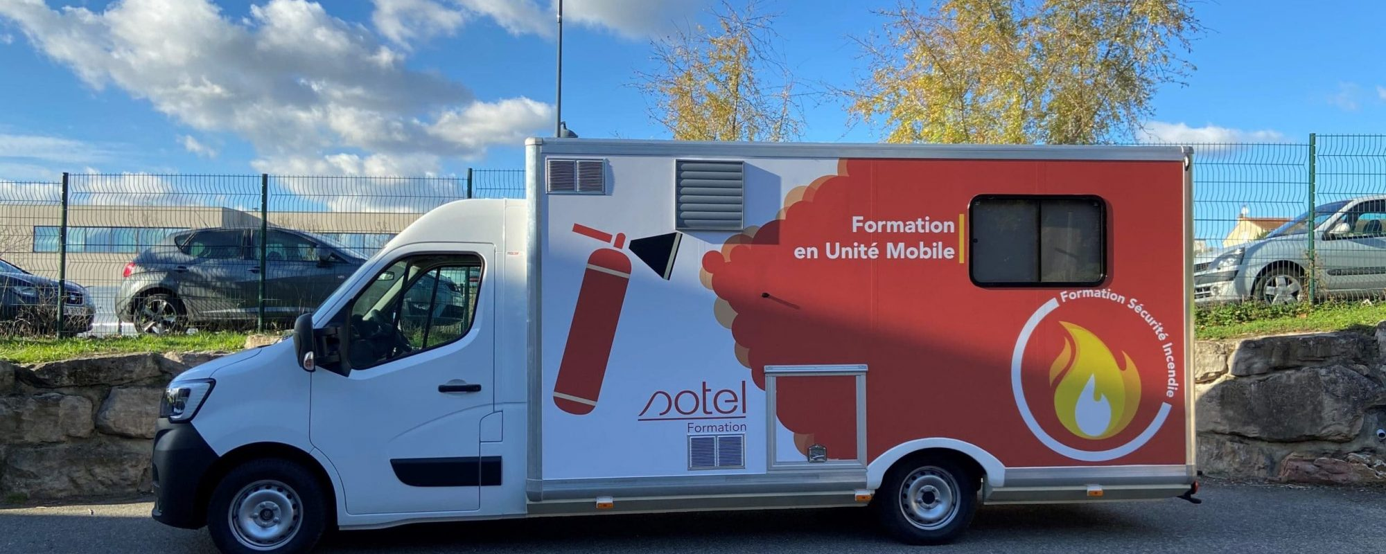 Formation en Unité Mobile Incendie